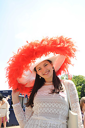 MAJA JOVCIC at the third day of the Royal Ascot 2010 (Ladies Day) Racing Festival at Ascot Racecourse, Bershire on 17th June 2010.