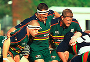 Zurich Premiership,  LONDON IRISH V LEICESTER,17-11-2001. prop right Neil Hatley Action from the London Irish vs Leicester Tiger Game played at the Stoop Ground Twickenham. [Mandatory Credit: Peter Spurrier; Intersport Images.com]
