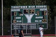 John Jay Varsity Football game at Yorktown on September 12, 2013.(photo by Gabe Palacio)