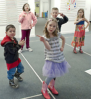 (Karen Bobotas/for the Laconia Daily Sun)Winnipesaukee Playhouse April Vacation Theater Camp April 27, 2011.