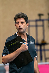 26-10-2019 NED: Talentteam Papendal - Draisma Dynamo, Ede<br /> Round 4 of Eredivisie volleyball - Arnold van Ree of Talent Team