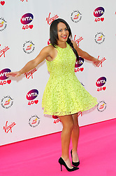 Wimbledon Party<br /> Heather Watson attends the annual pre-Wimbledon party at Kensington Roof Gardens,<br /> London, United Kingdom<br /> Thursday, 20th June 2013<br /> Picture by Chris  Joseph / i-Images