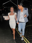 21.JUNE.2012. LONDON<br /> <br /> LAUREN GOODGER AND BOBBY COLE-NORRIS ARRIVING AT ANAYA NIGHT CLUB IN MAYFAIR.<br /> <br /> BYLINE: EDBIMAGEARCHIVE.CO.UK<br /> <br /> *THIS IMAGE IS STRICTLY FOR UK NEWSPAPERS AND MAGAZINES ONLY*<br /> *FOR WORLD WIDE SALES AND WEB USE PLEASE CONTACT EDBIMAGEARCHIVE - 0208 954 5968*