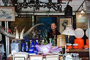 Saturday flea Market at Place du Jeu de Balle, Brussels, Belgium