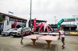 Kids during ATP Challenger Zavarovalnica Sava Slovenia Open 2017, on August 10, 2017 in Sports centre, Portoroz/Portorose, Slovenia. Photo by Vid Ponikvar / Sportida