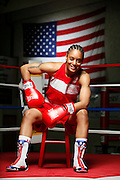 6/24/11 2:40:30 PM -- Colorado Springs, CO. -- A portrait of U.S. Olympic lightweight boxer Queen Underwood, 27, of Seattle, Wash. who will be competing for her fifth title. She began boxing in 2003 and was the 2009 Continental Champion and the 2010 USA Boxing National Champion. She is considered a likely favorite to medal at the 2012 Summer Olympics in London as women's boxing makes its debut as an Olympic sport. -- ...Photo by Marc Piscotty, Freelance.