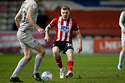 Harry Anderson of Lincoln City during the EFL Sky Bet League 1 match between Lincoln City and Portsmouth at Sincil Bank, Lincoln, United Kingdom on 28 January 2020.