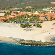 Aerial view of Melia Cabo Real hotel. 2008. Los Cabos, BCS.