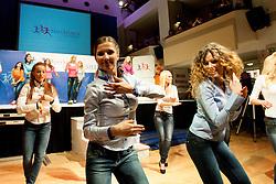 during event Miss Sports of Slovenia 2013, on April 20, 2013, in Festivalna dvorana, Ljubljana, Slovenia. (Photo by Urban Urbanc / Sportida.com)