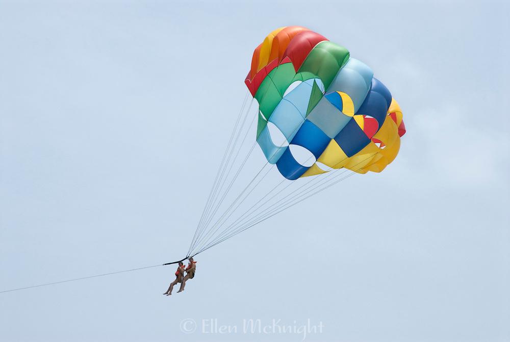 Couple Parasailing in Punta Cana