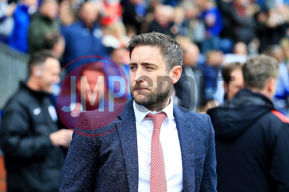 Lee Johnson head coach of Bristol City  - Mandatory by-line: Matt McNulty/JMP - 23/04/2016 - FOOTBALL - Ewood Park - Blackburn, England - Blackburn Rovers v Bristol City - Sky Bet Championship