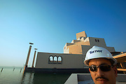 Museum of Islamic Art designed by American star architect I.M. Pei. An engineer of Turner Construction Company, New York.