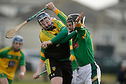NHL Division 2B at Trim, 6th March 2016<br /> Meath vs Donegal<br /> Adam Gannon (Meath) & Paul Burns (Donegal)<br /> Photo: David Mullen /www.cyberimages.net / 2016