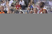 DESCRIZIONE : Roma Lega A 2012-2013 Acea Roma Montepaschi Siena  playoff finale gara 2<br /> GIOCATORE : Marco Calvani Gani Lawal<br /> CATEGORIA : Schema<br /> SQUADRA : Acea Roma<br /> EVENTO : Campionato Lega A 2012-2013 playoff finale gara 2<br /> GARA : Acea Roma Montepaschi Siena <br /> DATA : 13/06/2013<br /> SPORT : Pallacanestro <br /> AUTORE : Agenzia Ciamillo-Castoria/GiulioCiamillo<br /> Galleria : Lega Basket A 2012-2013  <br /> Fotonotizia : Roma Lega A 2012-2013 Acea Roma Montepaschi Siena  playoff finale gara 2