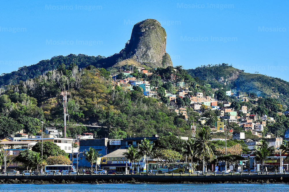 Brasil - Espirito Santo - Vitoria - Vista para Pedra dos Olhos - Foto: Gabriel Lordello/ Mosaico Imagem