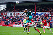 Swansea City forward Andre Ayew (22) in action during the EFL Sky Bet Championship match between Barnsley and Swansea City at Oakwell, Barnsley, England on 19 October 2019.