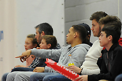 Bristol Citys James Tavernier - Photo mandatory by-line: Dougie Allward/JMP - Mobile: 07966 386802 - 13/03/2015 - SPORT - Basketball - Bristol - SGS Wise Campus - Bristol Flyers v Leicester Riders - British Basketball League