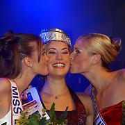 Verkiezing Miss Nederland 2003, Femke Frederiks, Sanne de Regt, Nathalie Hassink