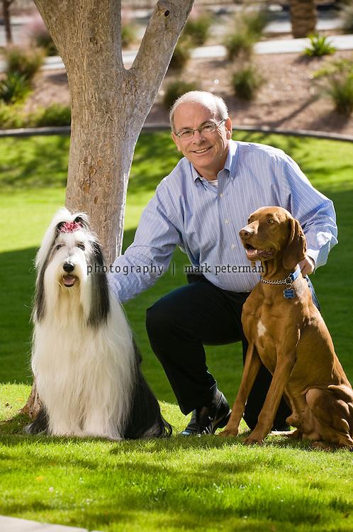 Robert Moran CEO of PetSmart on the campus and headquarters in Phoenix, Arizona.