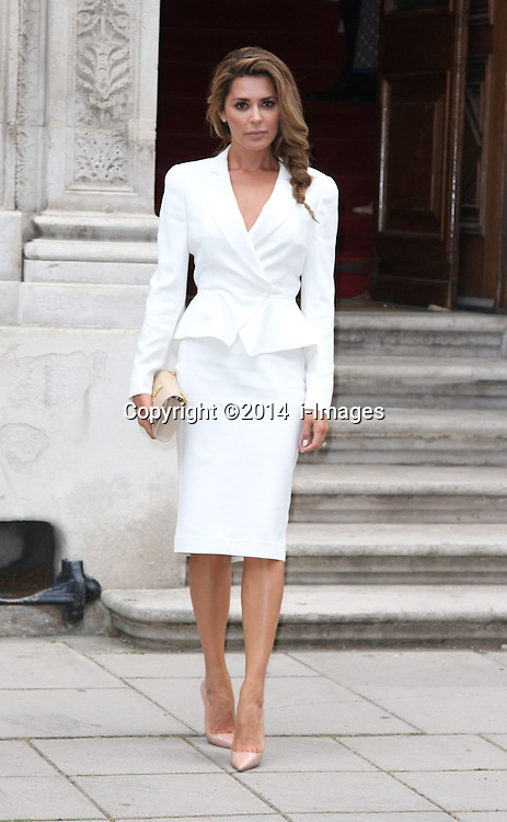 Image ©Licensed to i-Images Picture Agency. 30/06/2014. London, United Kingdom. DANIELLE LINEKER<br /> attends a reception for the Best of Britain's Creative Industries at The Foreign Office. Picture by  i-Images