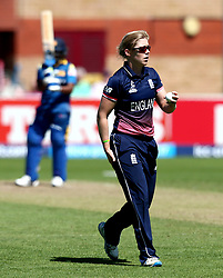 Heather Knight of England Women - Mandatory by-line: Robbie Stephenson/JMP - 02/07/2017 - CRICKET - County Ground - Taunton, United Kingdom - England Women v Sri Lanka Women - ICC Women's World Cup Group Stage