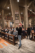 Christmas Mass at the Basilica of the Annunciation, Nazareth, Israel