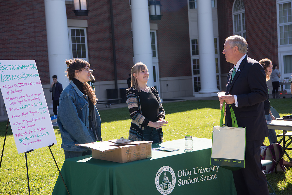 Sustainability, President Duane Nellis, Inauguration Week, Board of Trustees