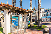 Train Ticket Booth at the Pier Bowl in San Clemente