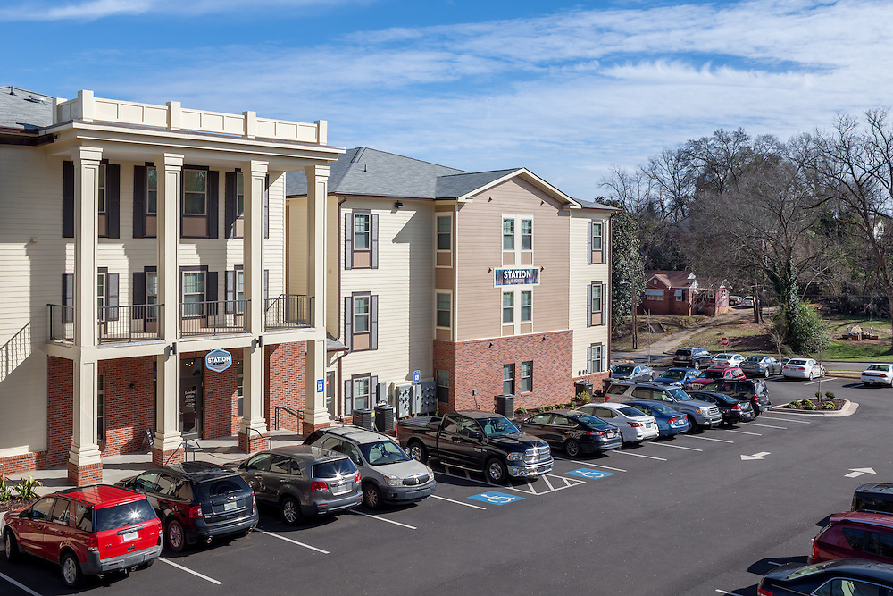 Station on McIntosh student housing complex in Milledgeville, Georgia.