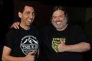 Matthew Sweet, Jason Robinson, portrait photography by Cleveland music photographer Mara Robinson