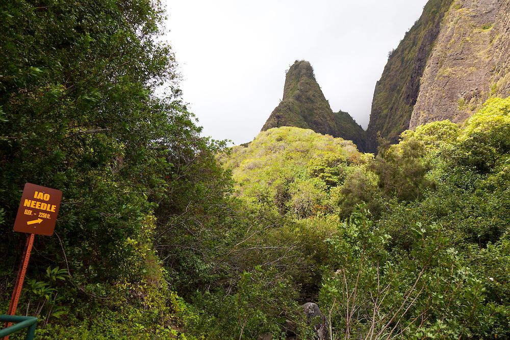 Iao Valley State Park, Maui, Hawaii