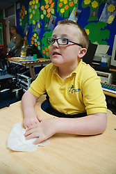 Pupil with learning difficulties,