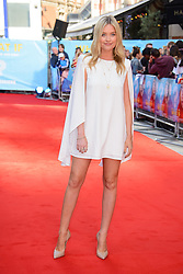 Image ©Licensed to i-Images Picture Agency. 12/08/2014. London, United Kingdom. <br /> Laura Whitmore attends the What If - UK film premiere. Leicester Square. Picture by Chris Joseph / i-Images