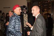 MARC QUINN; JENNY BASTET; CHRISTOPHER LE BRUN, Ai Weiwei, Royal Academy, Piccadilly. London.  15 September 2015.