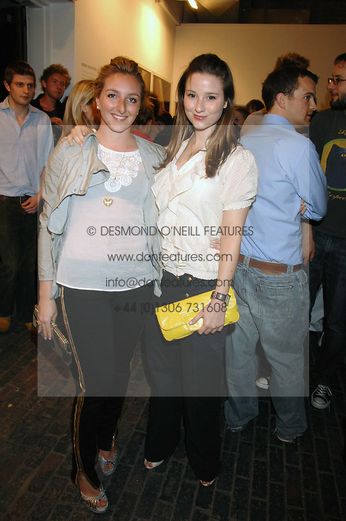 Left to right, NATASHA CORRETT and KELLY EASTWOOD at the launch of 'Glenmorangie 5 Senses' an exhibition of photographs by Mike Figgis held at Proud Camden, Stables Market, London NW1 on 13th May 2008.<br /><br />NON EXCLUSIVE - WORLD RIGHTS
