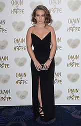 Chloe Green attends The Chain Of Hope Ball at The Grosvenor House Hotel on Friday 21st November 2014