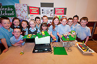 Young engineers and Scientists from all over county Galway including pupils from Lackagh National School  at the Medtronic Junior FIRST LEGO League organised by Galway Education Centre in the Radisson Blu Hotel Galway. This year the theme was 'Super Seniors' where pupils 6 to 9 years of age had to research problems for adults over 60 and invent a solution.<br /> . Picture:Andrew Downes