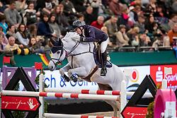 WHITAKER Michael (GBR), Valmy de la Lande<br /> Leipzig - Partner Pferd 2019<br /> IDEE Kaffe Preis<br /> CSI5*<br /> 18. Januar 2019<br /> © www.sportfotos-lafrentz.de/Stefan Lafrentz