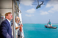 KING WILLEM ALEXANDER AND QUEEN MAXIMA VISIT SAIL ARUBA 2015