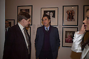NICK FOULKES AND BRYAN FERRY, Vanity Fair Portraits: Photographs 1913-2008. Hosted by Burberry and Vanity Fair. National Portrait Gallery. London. 9 February 2008.  *** Local Caption *** -DO NOT ARCHIVE-© Copyright Photograph by Dafydd Jones. 248 Clapham Rd. London SW9 0PZ. Tel 0207 820 0771. www.dafjones.com.