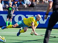 AMSTELVEEN - Matthew Swann (Austr.) . Semi Final Pro League  women, Australie-Groot Brittannie (6-1). COPYRIGHT KOEN SUYK