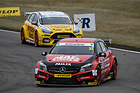 #33 Adam Morgan Ciceley Motorsport Mercedes-Benz A-Class during BTCC Race 1  as part of the Dunlop MSA British Touring Car Championship - Rockingham 2018 at Rockingham, Corby, Northamptonshire, United Kingdom. August 12 2018. World Copyright Peter Taylor/PSP. Copy of publication required for printed pictures.
