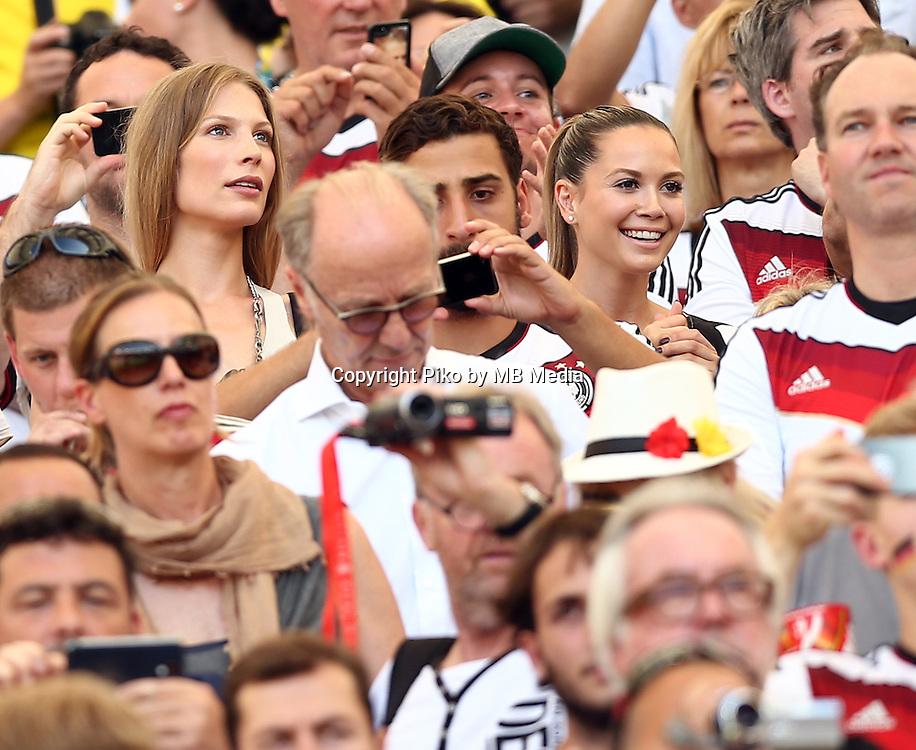 Fifa Soccer World Cup - Brazil 2014 - <br /> FRANCE (FRA) Vs. GERMANY (GER) - Quarter-finals - Estadio do Maracana Rio De Janeiro -- Brazil (BRA) - 04 July 2014 <br /> Here German players wives<br /> &copy; PikoPress