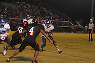 Water Valley's C.J. Jackson (26) vs. Independence in high school football action in Independence, Miss. on Friday, August 19, 2011. Water Valley won 42-0.
