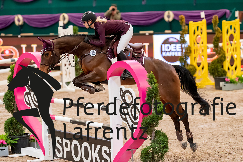 MEYER Saskia (GER), My Holly<br /> Leipzig - Partner Pferd 2019<br /> SPOOKS-Amateur Trophy<br /> Small Tour<br /> 17. Januar 2019<br /> © www.sportfotos-lafrentz.de/Stefan Lafrentz