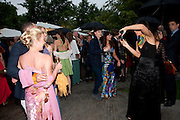 BRENT HOBERMANN; JENNY HALPERN, The Summer party 2011 co-hosted by Burberry. The Summer pavilion designed by Peter Zumthor. Serpentine Gallery. Kensington Gardens. London. 28 June 2011. <br /> <br />  , -DO NOT ARCHIVE-© Copyright Photograph by Dafydd Jones. 248 Clapham Rd. London SW9 0PZ. Tel 0207 820 0771. www.dafjones.com.