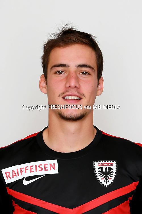 10.07.2014; Aarau; Fussball Super League - Portrait  FC Aarau;<br />Bruno Martignoni (Aarau) (Claudia Minder/freshfocus)