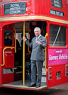 "PRINCE CHARLES.rides on a 1960 London Routemaster Bus..The Prince of Wales met ambassadors and collectors at the start of the London Poppy Day Appeal, Clarence House, London_01/11/2012.Mandatory Credit Photo: ©A Harlen/NEWSPIX INTERNATIONAL..**ALL FEES PAYABLE TO: ""NEWSPIX INTERNATIONAL""**..IMMEDIATE CONFIRMATION OF USAGE REQUIRED:.Newspix International, 31 Chinnery Hill, Bishop's Stortford, ENGLAND CM23 3PS.Tel:+441279 324672  ; Fax: +441279656877.Mobile:  07775681153.e-mail: info@newspixinternational.co.uk"