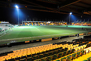 Huish Park before the The FA Cup Third Round Replay match between Yeovil Town and Carlisle United at Huish Park, Yeovil, England on 19 January 2016. Photo by Graham Hunt.