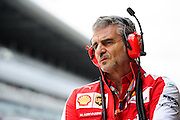 October 8, 2015: Russian GP 2015: Maurizio Arrivabene, team principal of Scuderia Ferrari